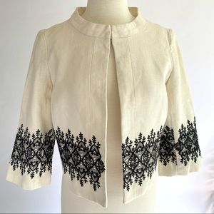 Forth & Towne Allegory Embroidered Jacket 10